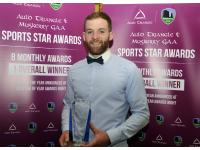 Sean O'Sullivan Aoril Award Winner
