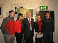 Noel O'Leary,Leah West, Michael O'Riordan, Joann O'Callaghan and Tom Kenny