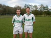 Diarmuid O'Riordan & Mark O'Sullivan