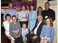 Aoife Murray with the Murray Family