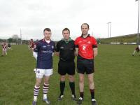 Captains before the Game