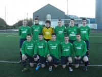 Liam Moran, captain of Swinford under 18 team