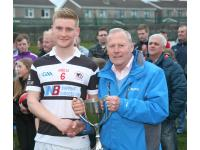 Dave Dooling Capt St Nicks winners City U21 B Football Championship.