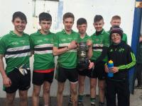 Barrs players with Frewen Cup Munster Colleges u16.5 inc Captain Cillian Myers Murray