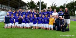County U-16 Hurling Championship Final win V Blackrock 2015