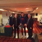 Ian Lordan winning non GUI team 2017 Golf Classic