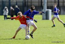 2017 U-14 Feile na nOg Peil action
