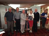 Aon Hewitt Golf classic 18 prize winners