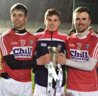 Cian , Cian and Sean with U21 Munster Trophy