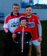 Johnny and Robbie with Cork Minors
