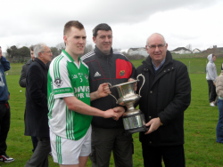 Darren Murphy With U21 Mid Cork Football Trophy