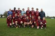 Temple Villa U17 WINNING TEAM