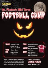 Halloween Football Camps