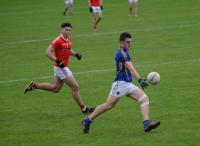 Jack Twomey attempts a shot, Kilshannig vs O'Donovan Rossa, County MAFC Final 2016