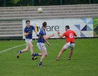 Kieran Twomey and Tony Brennan on the attack, County MAFC Final 2016