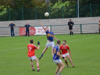 Tony Brennan jumps highest for possession, County MAFC Final 2016