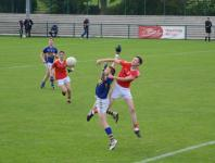 Jack Kearney fights for possession, Kilshannig vs O'Donovan Rossa, County MAFC Final 2016