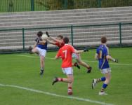Diarmuid O'Sullivan attempts a point, Kilshannig vs O'Donovan Rossa, County MAFC Final 2016
