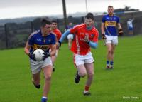 Brian Guerin, in possession, North Cork JAFC QF vs Kilworth 2016