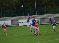 Kieran Twomey, about to claim a kick out, County MAFC Final 2016