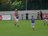 Jack Twomey fields a high ball, Kilshannig vs O'Donovan Rossa, County MAFC Final 2016