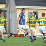 Phelim O'Connell scores a first half goal in the 2014 North Cork JAFC Final