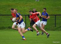 Killian O'Hanlon on the attack, North Cork JAFC QF 2016 vs Kilworth