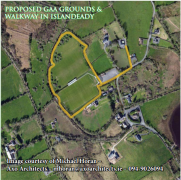 Proposed GAA Grounds & Walkway