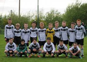 Eany Celtic U12s prior to defeat to Kilmacrennan Celtic