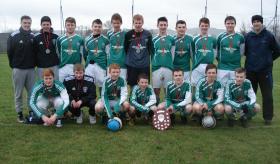 Drumkeen Utd ,winners Donegal Schoolboys east Division u-16 League 2013/14