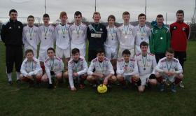 Cappry Rovers Donegal Schoolboys League U16 East Division Runners Up 2013/14