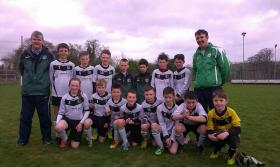 Eany Celtic U12 Cup Runners Up 2014