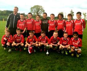 Glencar U12s who won the Letterkenny Premier Cup