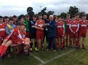Cappry Rovers U-16 Cup Winners 2017