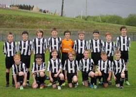 Kilmacrennan Celtic U12s prior victory over Eany Celtic