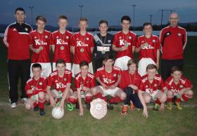 Cappry Rovers , East Division U14 League Winners 2013/14