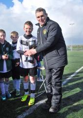 Rhys Boyle lifts 2014 South Division Under 12 trophy