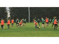 Snr Football Warm Up v UCD