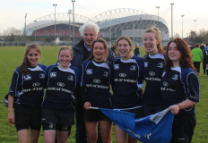 Gorey Ladies U19s representing Leinster