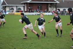 Longford Performance XV Captain Barry Stewart