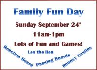 Family Fun Day at Tullow RFC, All Welcome!