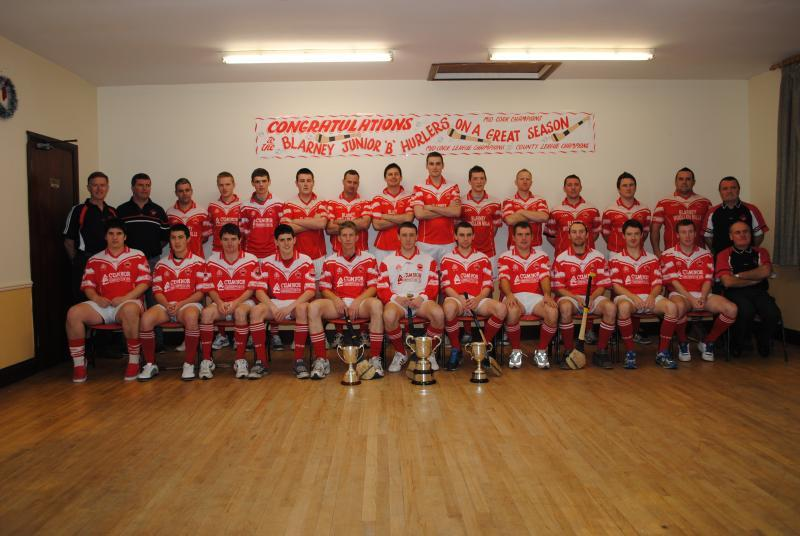 Junior B Treble-Winners 2012