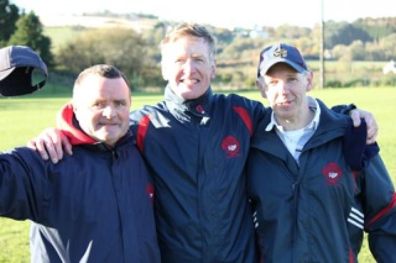The three wise men! JBH League Champions 2012
