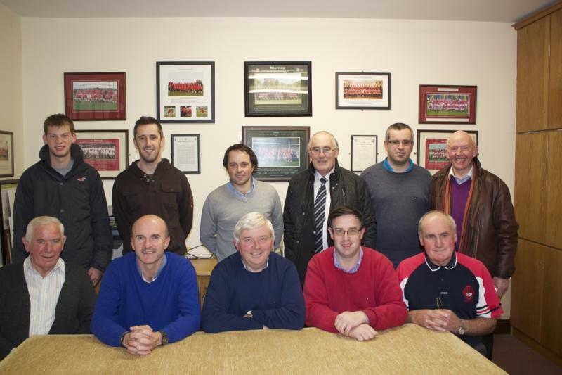 Blarney GAA Officers 2015