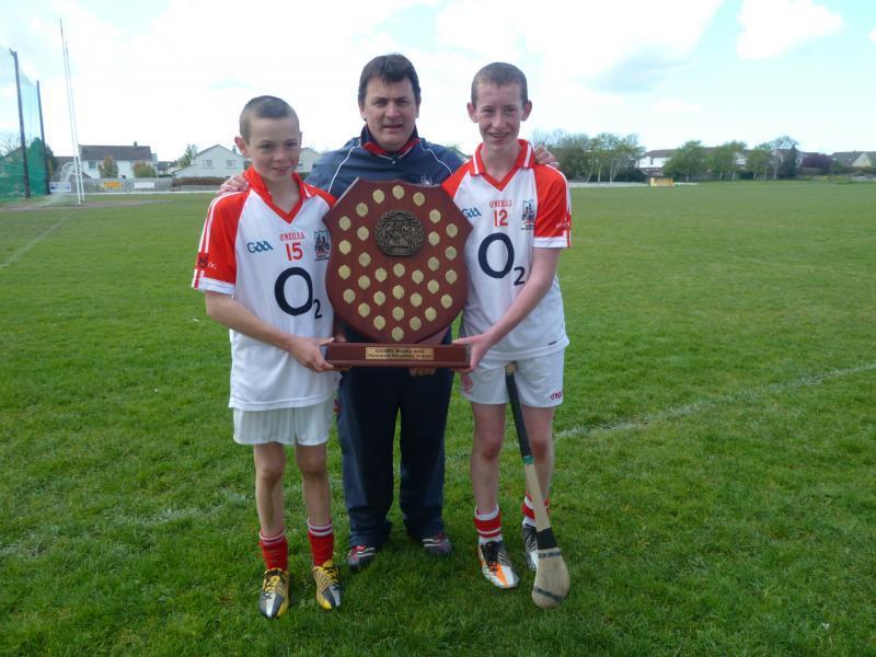 Ray Murphy, Mark Coleman and Kevin Cremin represent Cork in U15 Gary Scollard Tournament 2012