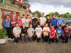 Lagan Cement supports boys U14 trip to Kerry
