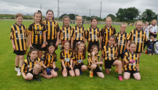 Girls U10 at recent Blitz