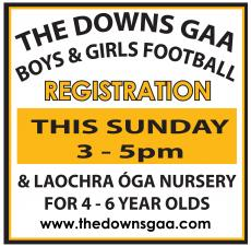 Registration this Sunday