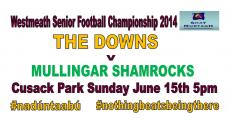 1st Round of Senior Championship this weekend