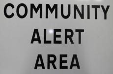 Community Alert Registration this weekend - see Latest News